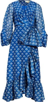 Sachin + Babi Rae Tea Length Gown