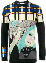 J.W.Anderson Puzzle Graphic jumper - men - Polyamide/Polyester/Spandex/Elastane/Wool - S