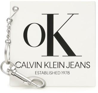 Calvin Klein Logo Key Charm