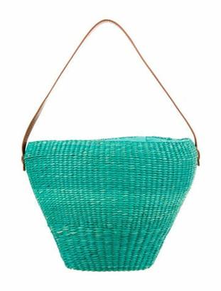 Sensi Straw Tote Bag Blue
