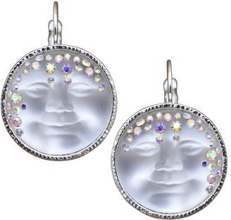 Kirks Folly Goddess Seaview Moon Lever Back Earrings