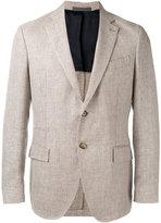 Eleventy classic blazer - men - Silk/Linen/Flax/Cupro/Wool - 48
