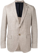 Eleventy classic blazer - men - Silk/Linen/Flax/Cupro/Wool - 54