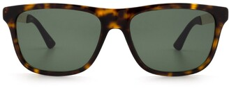 Gucci Rectangular Frame Sunglasses