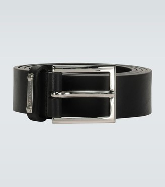 Givenchy Classic leather buckle belt