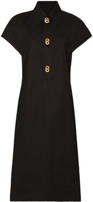 Bottega Veneta Buttoned Shirt Dress
