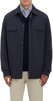 Ermenegildo Zegna Men's Tech-Fabric Jacket-NAVY