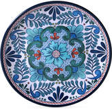 Certified International Talavera Salad Plate 9""
