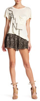 Haute Hippie Marisa Embellished Bead Silk Short