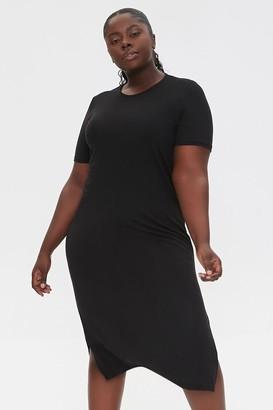 Forever 21 Plus Size Midi T-Shirt Dress