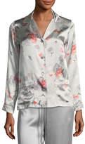 Meng Floral-Print Long-Sleeve Pajama Top