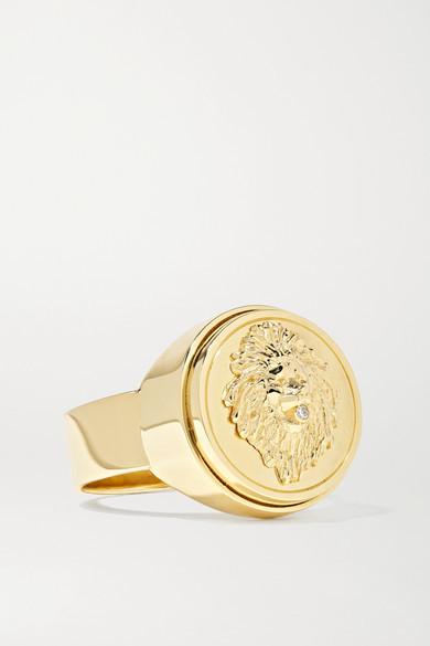 Foundrae Strength 18-karat Gold Diamond Ring - 7
