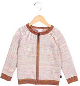 Little Marc Jacobs Girls' Knit Zip-Up Sweater