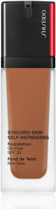 Shiseido Synchro Skin Self Refreshing Foundation 30Ml 450 Copper