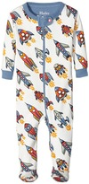 Hatley Retro Rockets Footed Coverall (Infant)