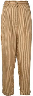 Mes Demoiselles Chandelle striped trousers