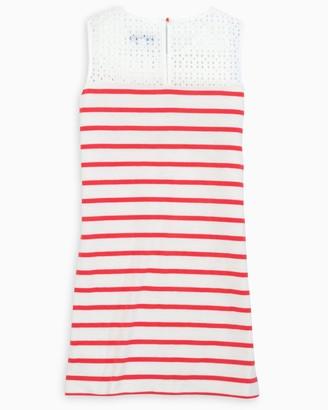 Southern Tide Elina Striped Sleeveless Dress