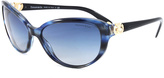 Tiffany & Co. Blue Marble & Blue Gradient Cat-Eye Sunglasses