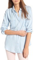Rails Women's Carter Pinstripe Chambray Shirt