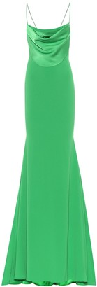 Alex Perry Clay crepe dress