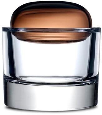 Nude Glass Ecrin Large Glass Lidded Vessel Storage Box