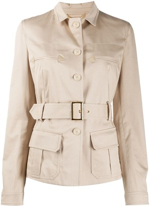 Alberta Ferretti Safari Jacket
