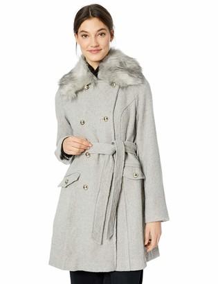 Jessica Simpson Women's Double Breasted Fashion Coat