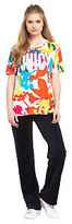 Juicy Couture Matisse Floral Graphic T-Shirt