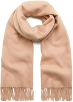 Mulberry Lambswool Scarf Rosewater Lambswool