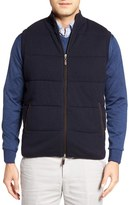 Peter Millar Quilted Wool & Cotton Vest