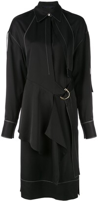 Proenza Schouler Top Stitched Shirt Dress