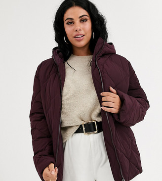 ASOS DESIGN curve ultimate puffer