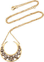 Yvonne Leon 18K Gold Diamond Necklace