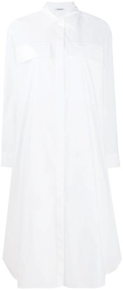 P.A.R.O.S.H. Oversized Midi Shirt Dress