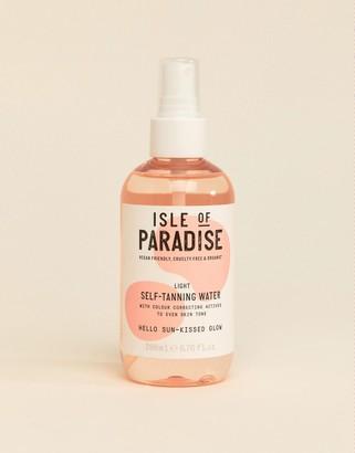 Isle of Paradise Self Tanning Water - Light 200ml