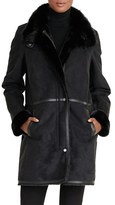 Lauren Ralph Lauren Women's Faux Shearling Coat