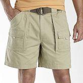 JCPenney St. John's Bay® Side-Elastic Cargo Shorts