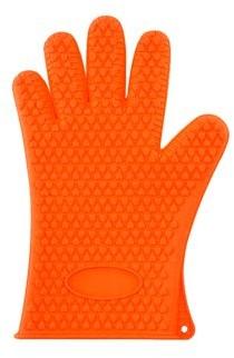 Online ONLINE Heat Resistant Silicone Grilling Glove - Orange