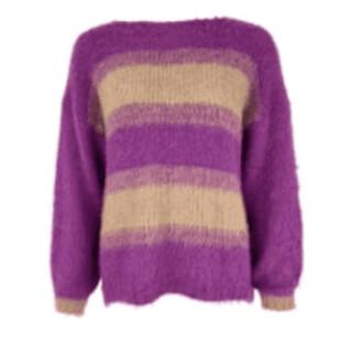 Margaux Striped Boatneck Sweater