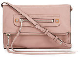 Rebecca Minkoff Regan Small Leather Clutch Bag, Vintage Pink
