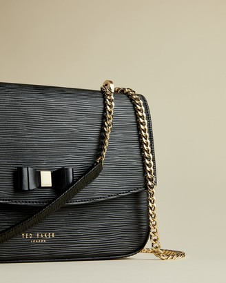 Ted Baker DANIEEL Medium leather crossbody bag