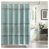 "Nobrand No Brand Carlyle Polyester Shower Curtain - Blue (72""x72"")"
