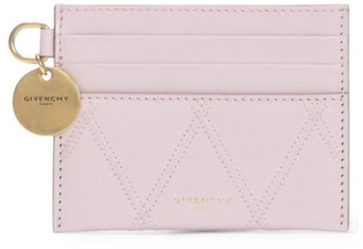 Givenchy Losange Quilted Leather Card Case