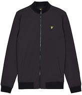 Lyle & Scott Zip Soft Shell Jacket, Black