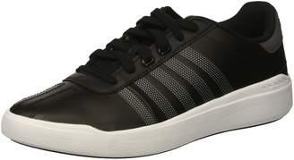 K-Swiss K Swiss Women's Heritage Light L Sneaker Black/Charcoal/White 10 M US