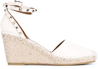 Valentino 'Rockstud' wedge pumps