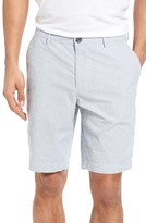 BOSS Men's Crigan Fine Stripe Shorts