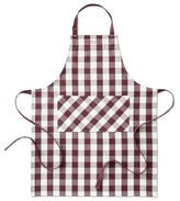 Williams-Sonoma Williams Sonoma Checkered Adult Apron, Burgundy