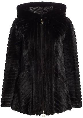 Zac Posen For The Fur Salon Hooded Mink Jacket