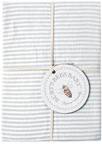 Burt's Bees Baby Organic Striped Fitted Crib Sheet
